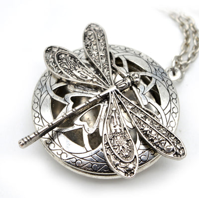 Dragonfly Locket Aromatherapy Essential Oil Diffuser - GearBody