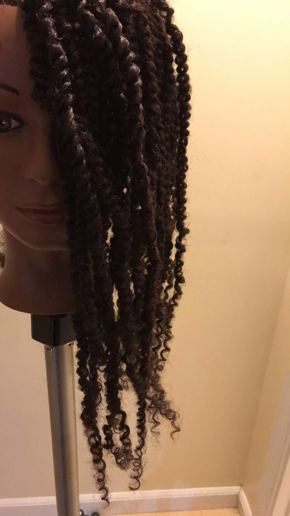 Kinky curly twists - Be Famous Beauty