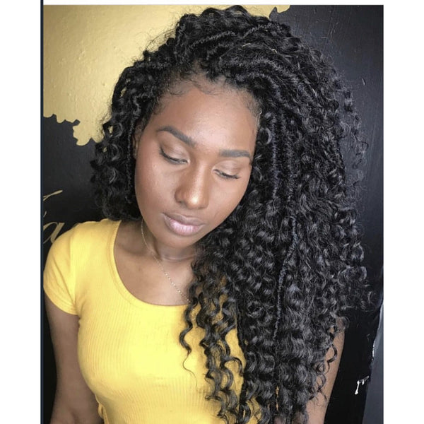 Gypsy Curly Faux Loc Package