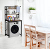𝙆𝙚𝙛𝙞 Washing machine Landing shelf rack organizer / Service Yard / Balcony