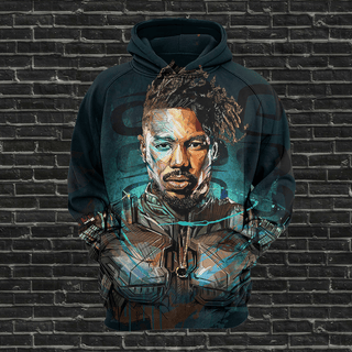 #B.001-Black Panther Illustrations  T-shirt-Hoodie