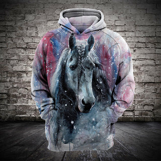 #001 3D printed Horse T-shirt and Hoodie