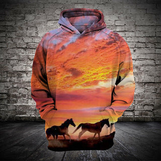 #012 3D printed Horse T-shirt and Hoodie
