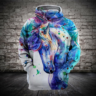 #005 3D printed Horse T-shirt and Hoodie