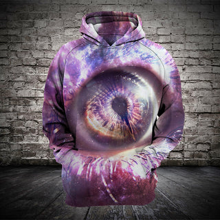 #A015 3D printed Galaxy Eye T-shirt and Hoodie