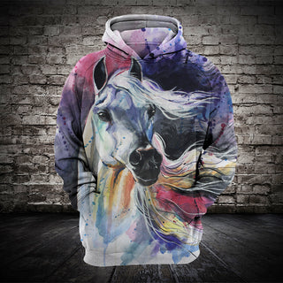 #009 3D printed Horse T-shirt and Hoodie