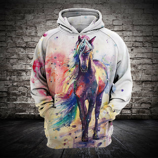 #006 3D printed Horse T-shirt and Hoodie