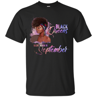 #C. Black Queens Were Born In September T-Shirt
