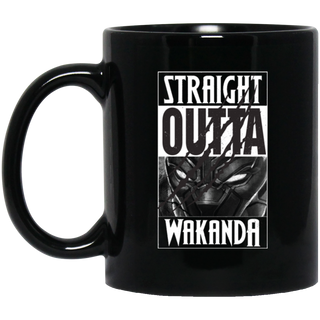 Straight Outta Wakanda	T-Shirt