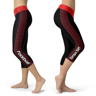 Tampa Bay Honeycomb Stripe Football Capris