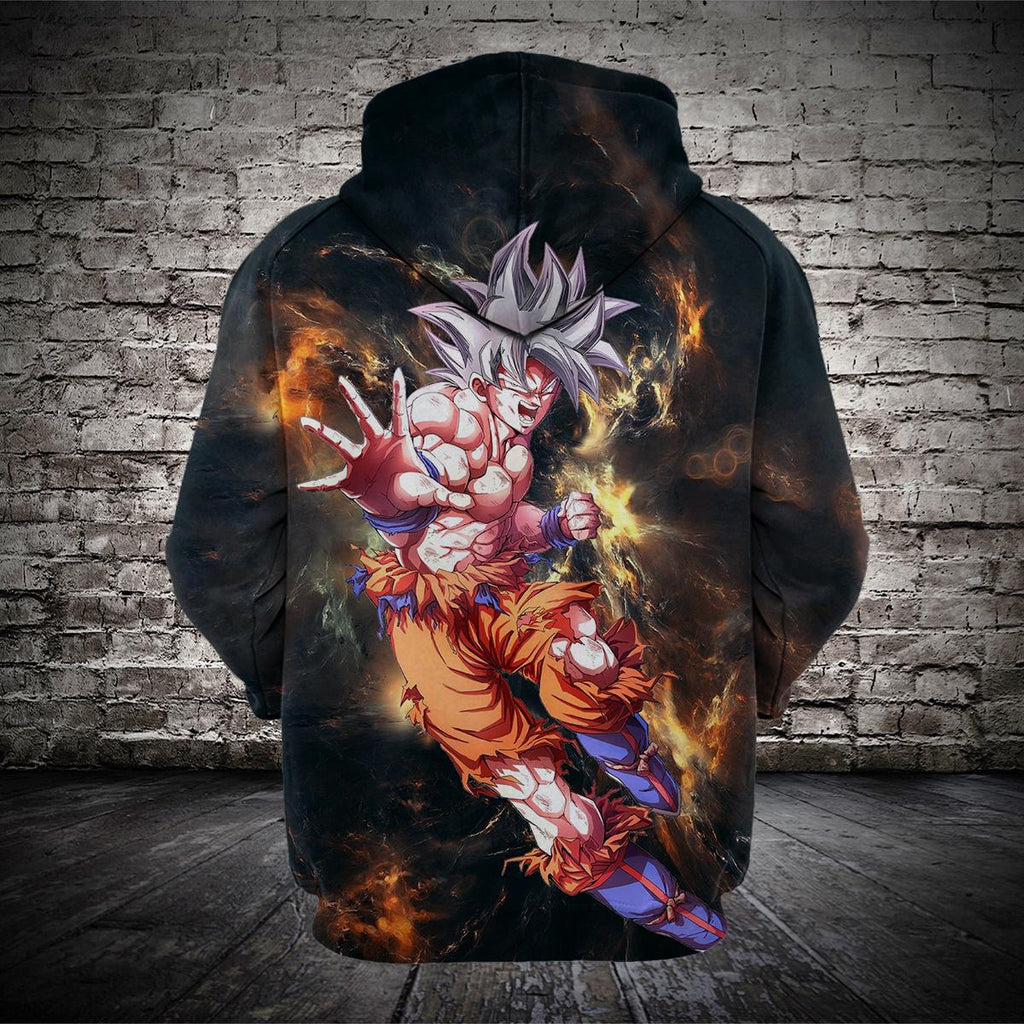 #A.000-Ultra Instinct Mastered Dragonball Z 3D Hoodie and T-Shirt