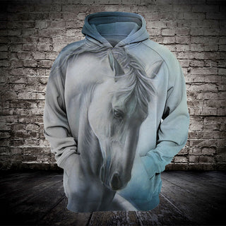 #015 3D printed Horse T-shirt and Hoodie