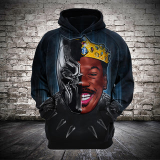 #B.017 Black Panther of Zamunda T-Shirt Hoodie
