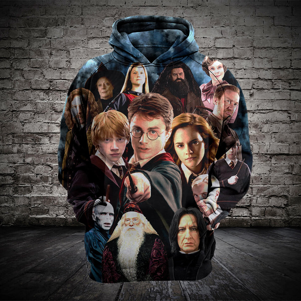 #B.039 Harry Potter 3D T-Shirt Hoodie