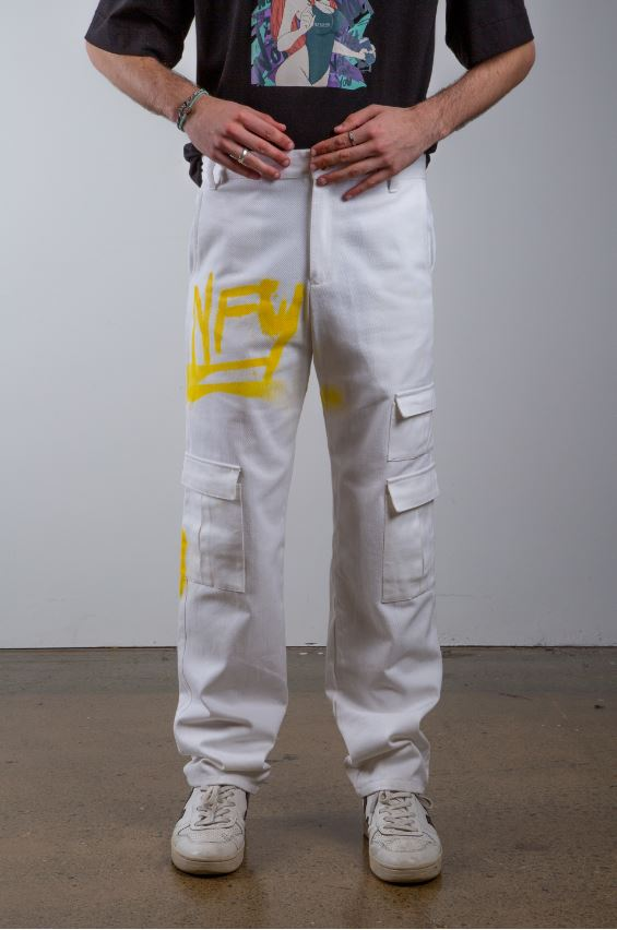 Painted Denim Jeans