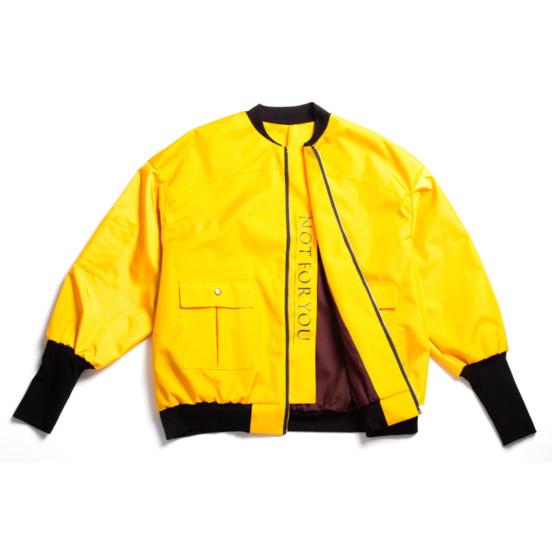 Yellow Bomber Jacket
