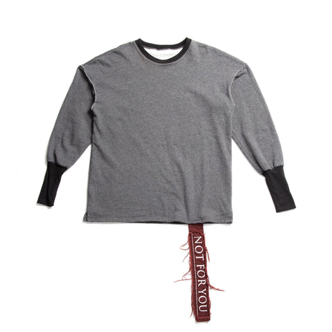 Crewneck with Kangaroo Pocket