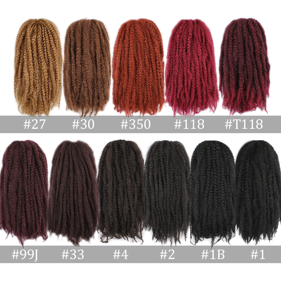 Xtrend 18inch 100g Marley Hair Synthetic Kinky Straight
