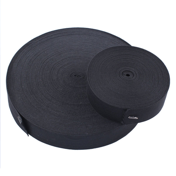 Black Elastic Spool Elastic Sewing Band For Lace Front