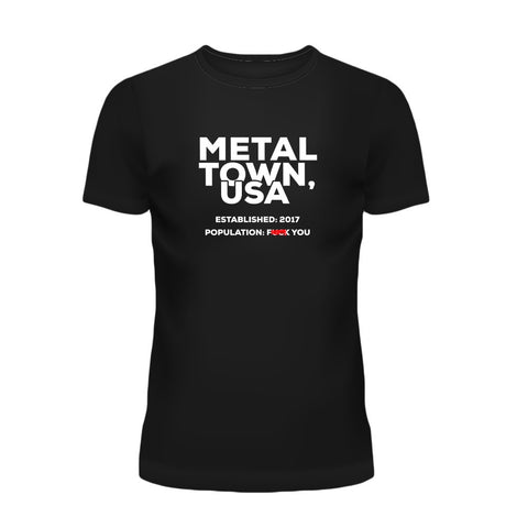 Metal Town Men's T-Shirt