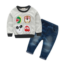 Cool Boy Hoodie  & Jeans ( 2 pcs) - Einstein kids