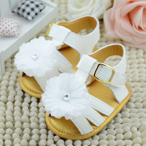 Flower Sandal For NewBorn (Girl Shoes) - Einstein kids