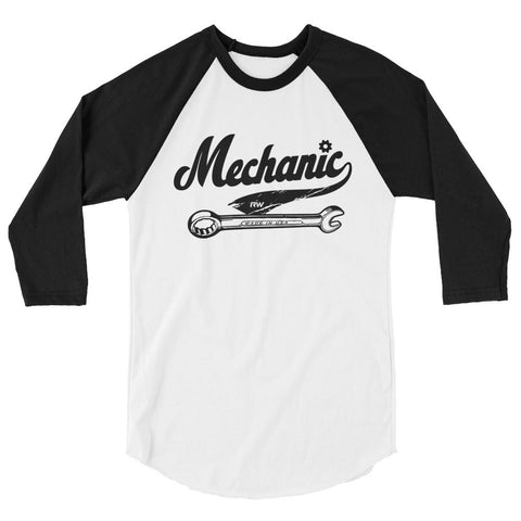 mechanic raglan shirts