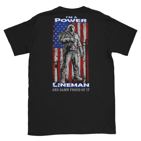 lineman t-shirts I am a lineman