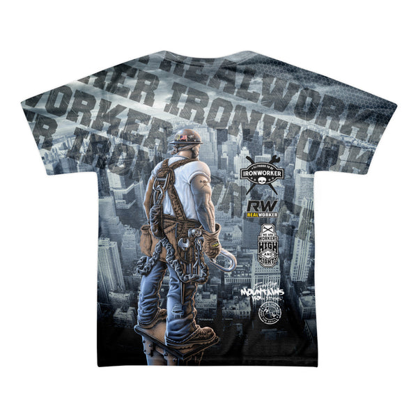 Ironworker shirts all over