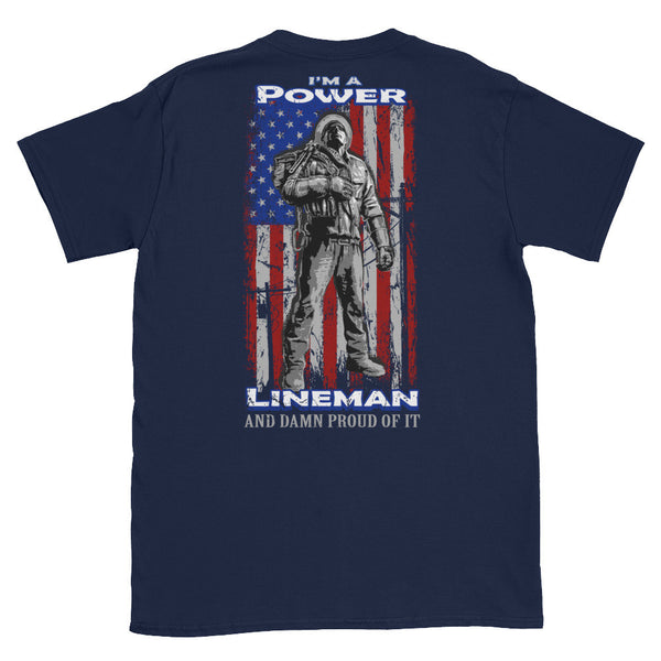 Lineman tshirts i am a lineman