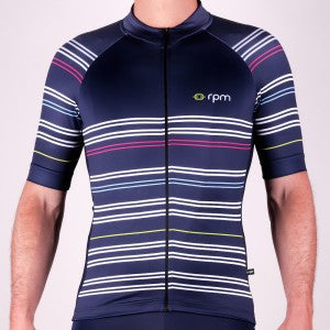 "New look for summer with the ""Stripes"" line by RPM Cycling"