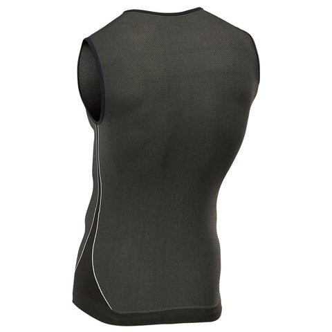 Black Sleeveless Base Layer (UNISEX)