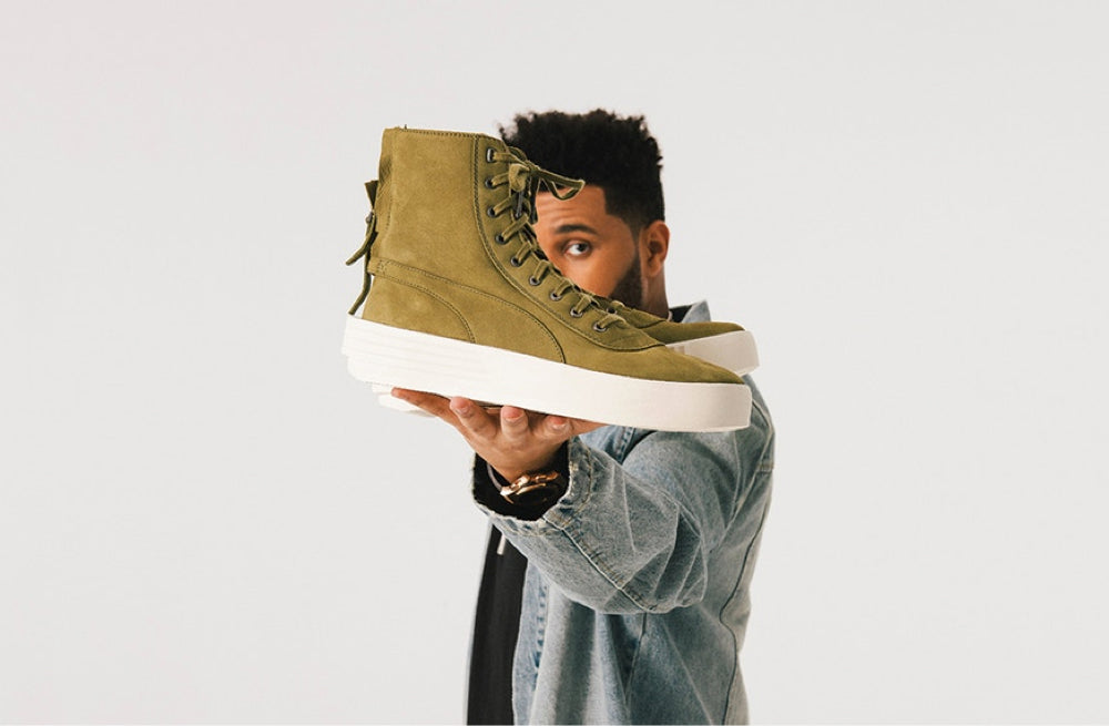 The Weeknd x Puma Looks Like Every Cool Sneaker in 2017
