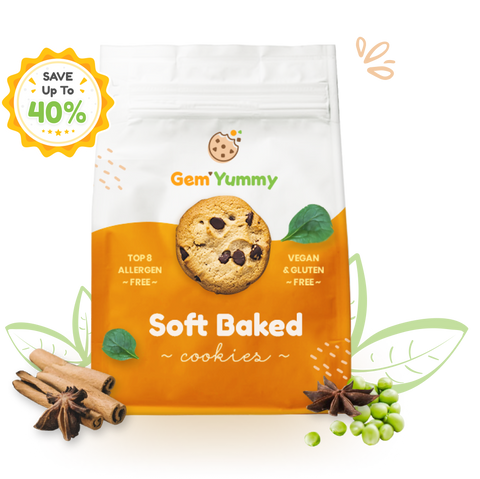 Gem'Yummy Soft Baked Cookies