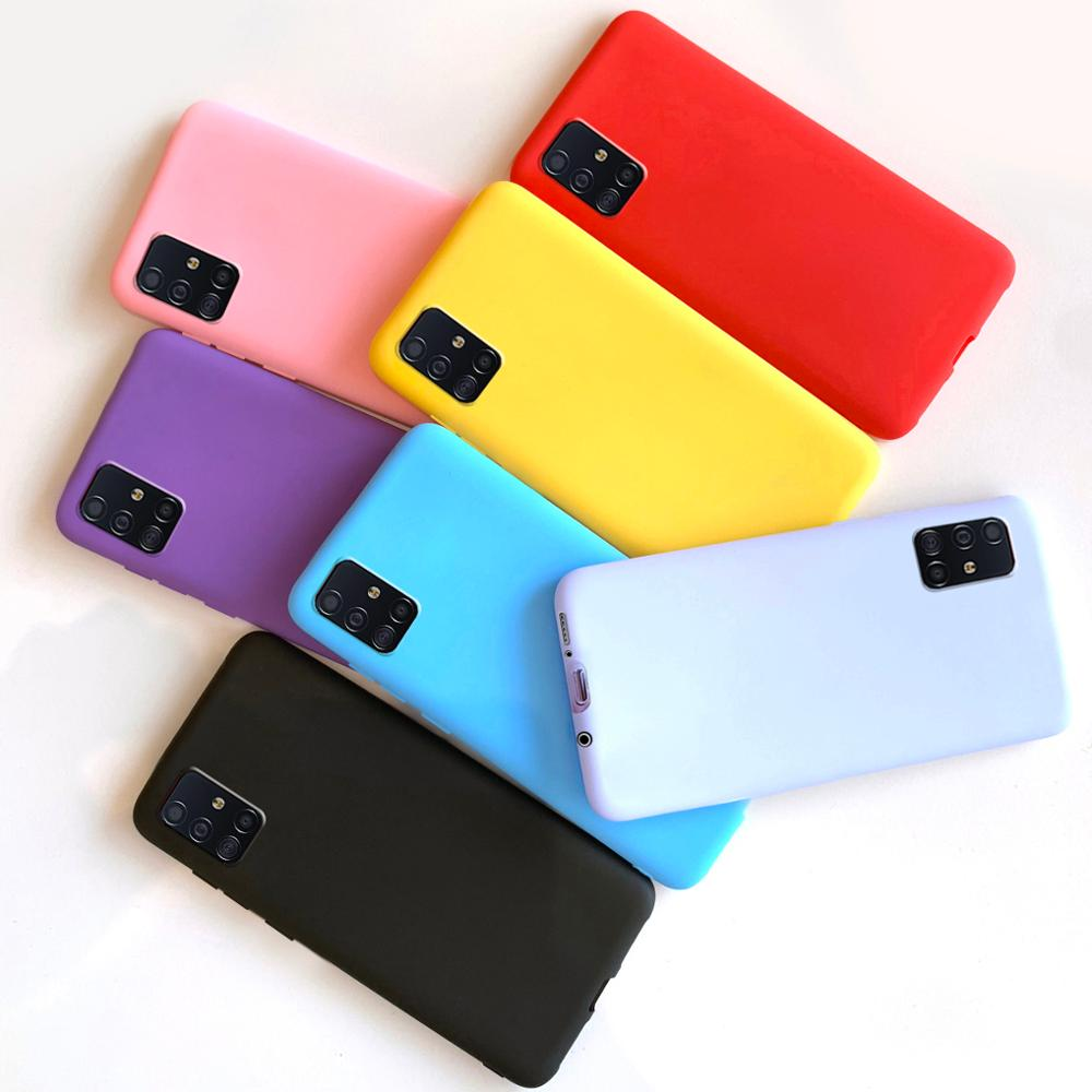 For Samsung Galaxy A51 Case Silicone Soft Back Cover For Samsung Galaxy A51 Case Cover For Fundas Samsung A51 A 51 Phone Cases