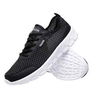 123 Breathable Air Mesh Women Men Running Shoes Travel Sport Run Shose Male Walking Athletic Shoes  Non Slip