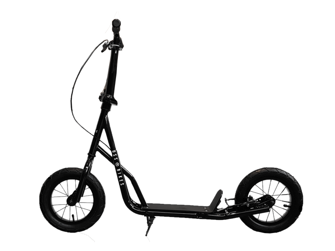 NEW Kimura Black - Black Scooter With 12 Inch Black Wheels