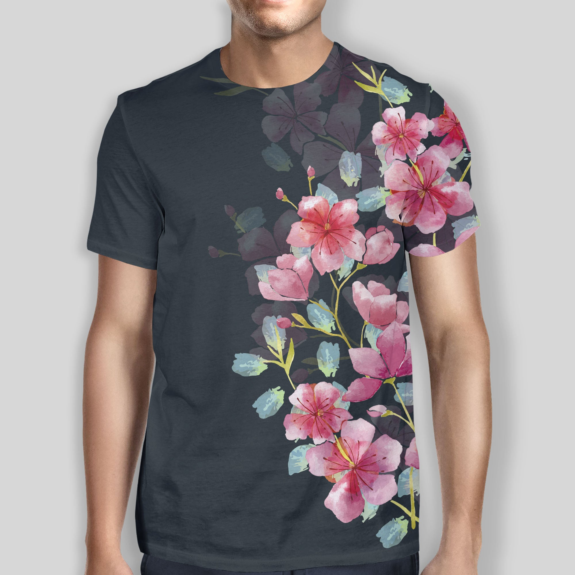 Navy Bloom Tee