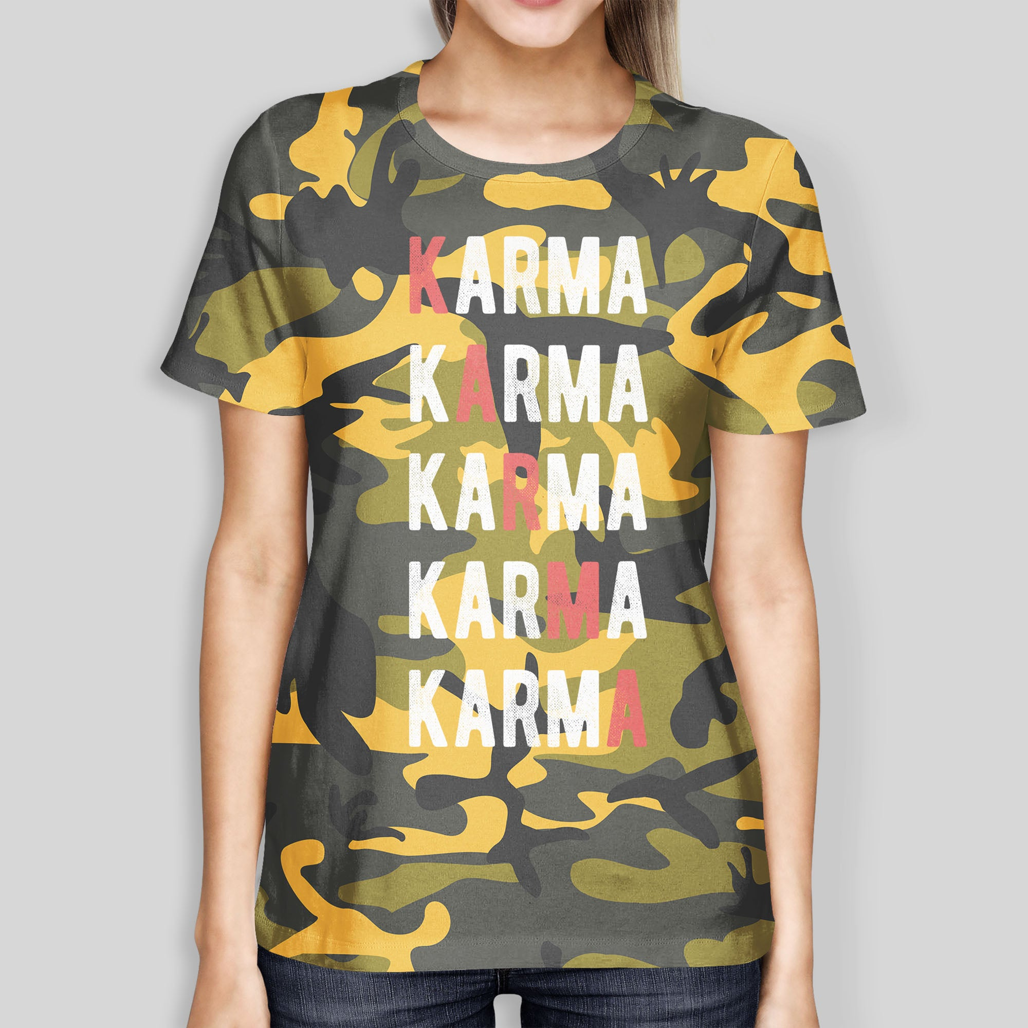 Yellow Karma Tee