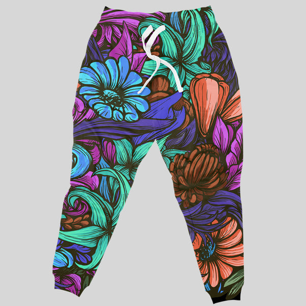 Midnight Floral Joggers