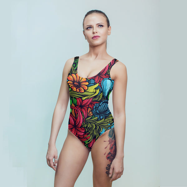 Spring Floral Swimsuit