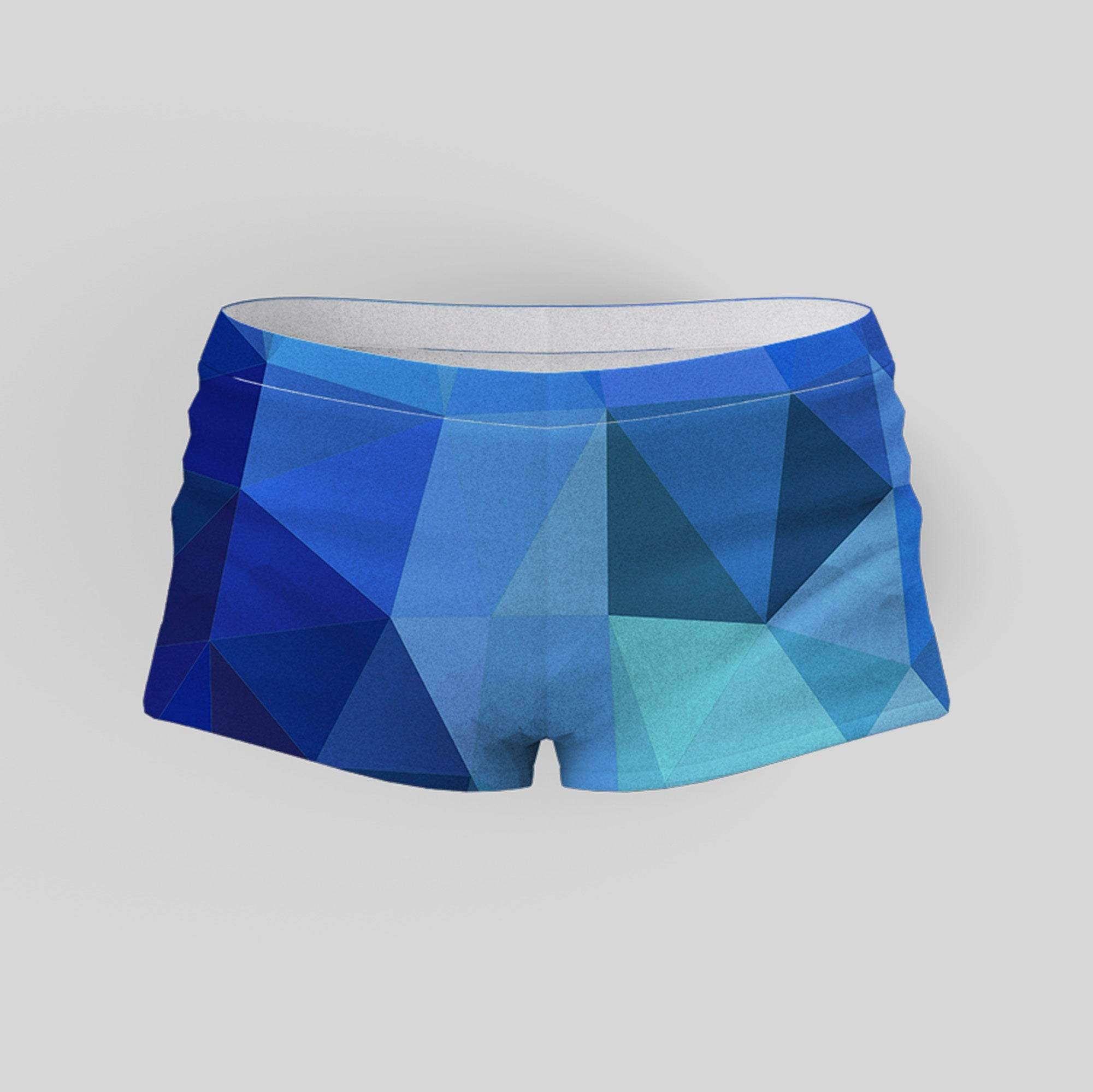 Abstract Yoga Shorts