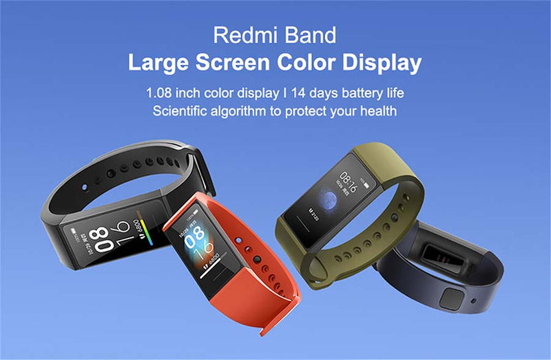Xiaomi Redmi Band Smartwatch Large Screen Display