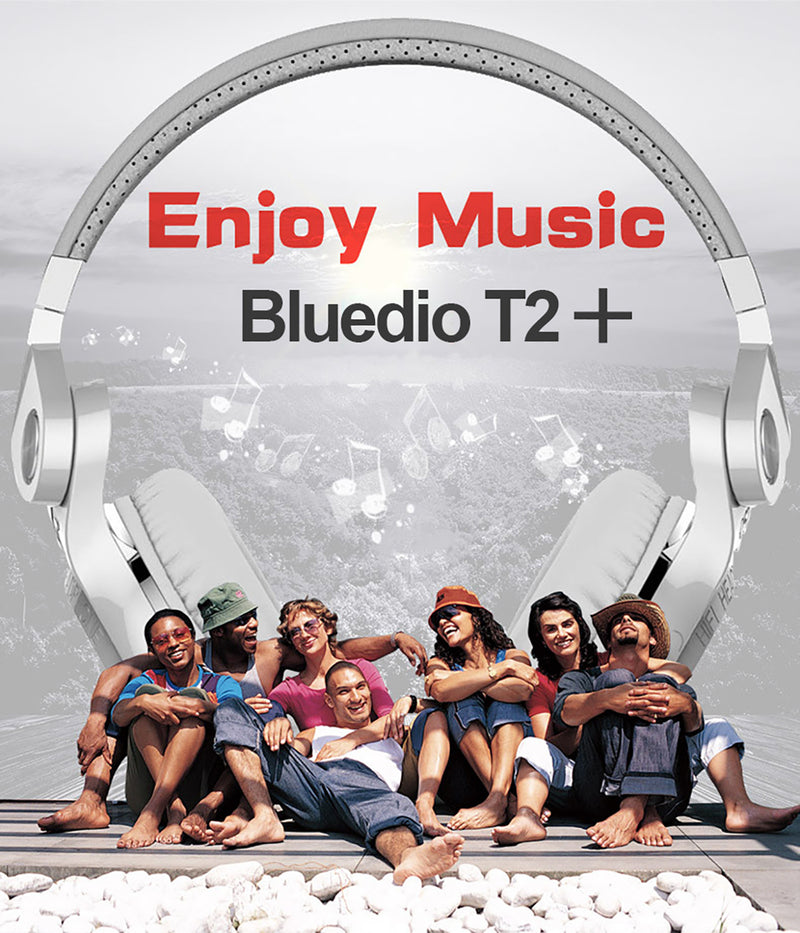 Bluedio Headphone T2 Plus Bluetooth Version