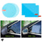 Rainproof Car Side Mirror Sticker Anti-Fog Film Before and After Use