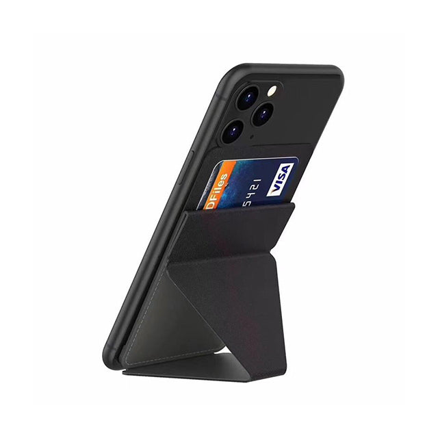 Cellphone Stand Ultra Thin Folding Design Black