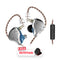 KZ ZS10 Pro 4BA+1DD In Ear Earphone with Microphone and Free Pouch