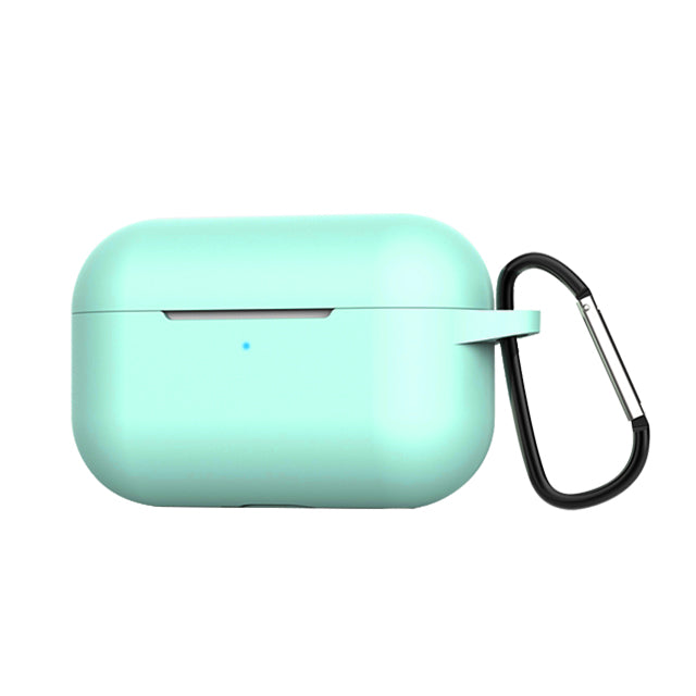 Silicone Case for Airpods Pro with Hook Mint