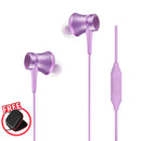 Xiaomi Piston Fresh In-Ear Earphones with Free Pouch Purple