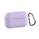 Silicone Case for Airpods Pro with Hook Lavender